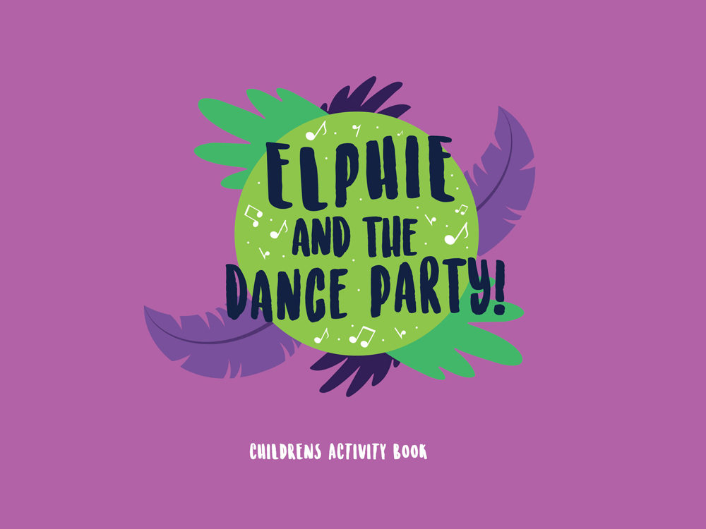Elphie Dance Party Activity Book
