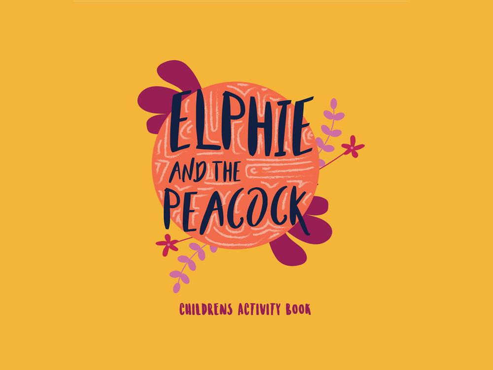 Elphie Peacock Activity Book